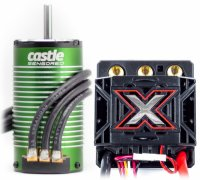 Castle Mamba Monster X ESC Combo with 1515-2200KV sensored motor