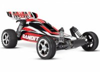 TRAXXAS Bandit 2WD 1/10 RTR TQ Red - w/o Battery & Charger